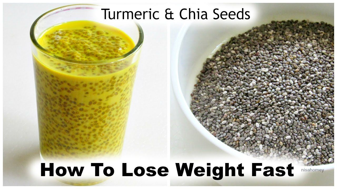 1b60086a3 How To Lose Weight Fast With Turmeric   Chia Seeds - 5 kg - Golden ...