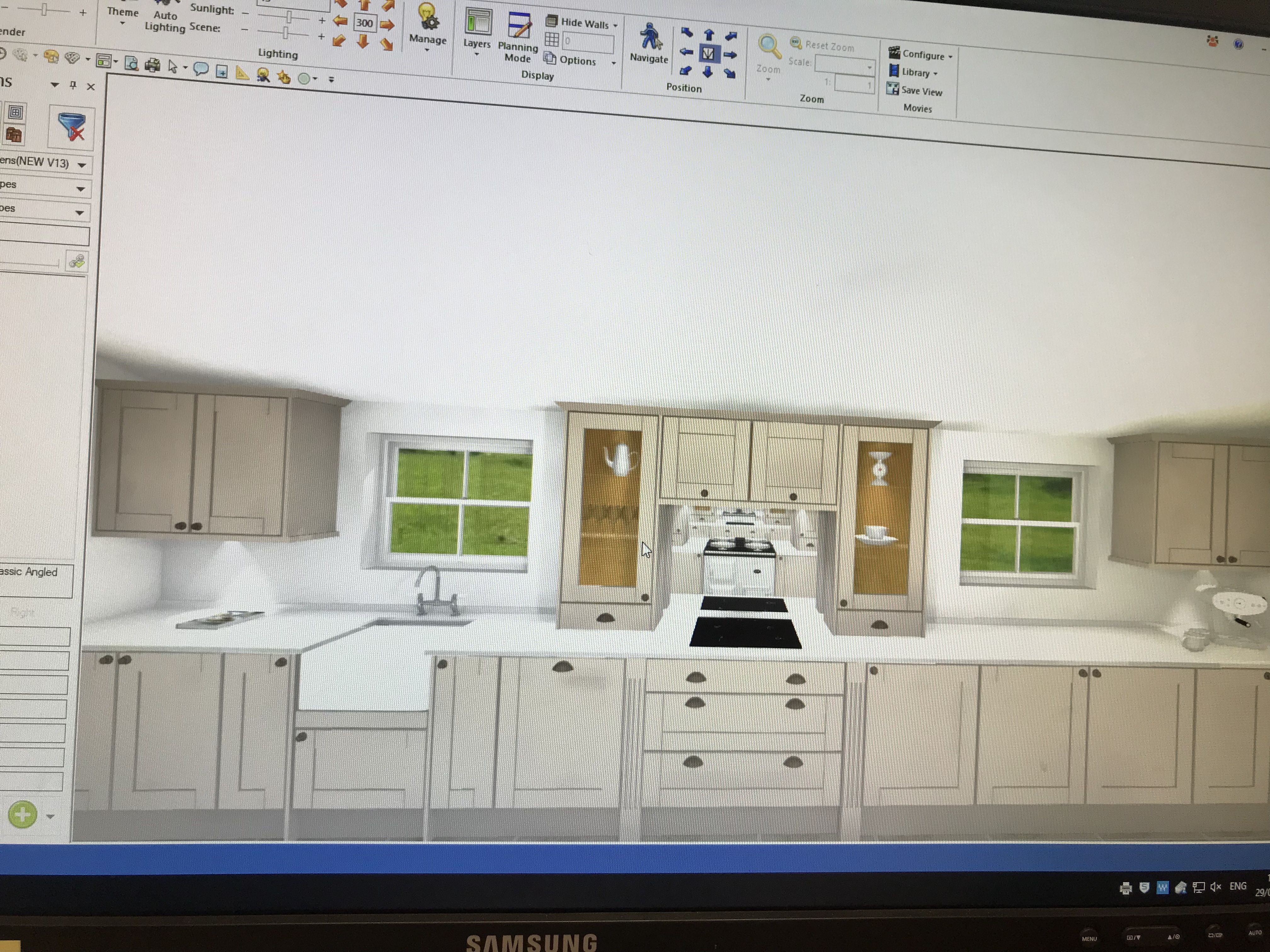 Tewkesbury Cashmere Kitchen designer Howdens Joinery in