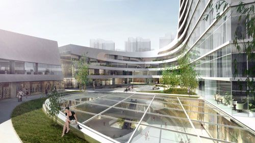 south west hotel competition proposal in beijing, china