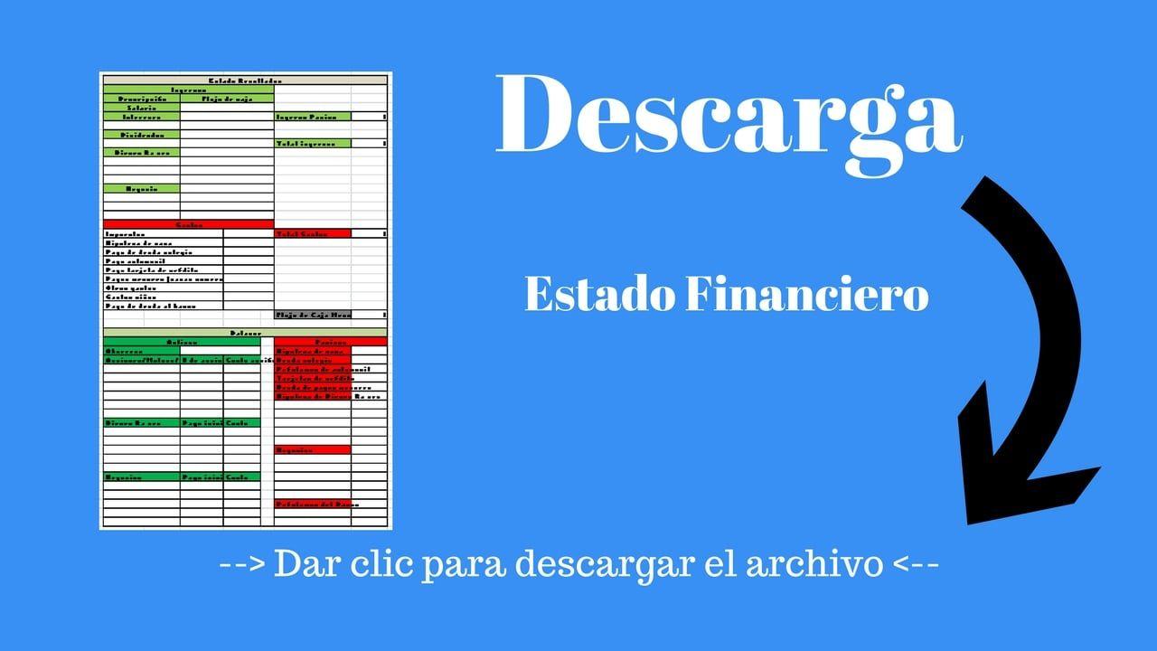 Descarga tu Estado Financiero   Proyectos que intentar
