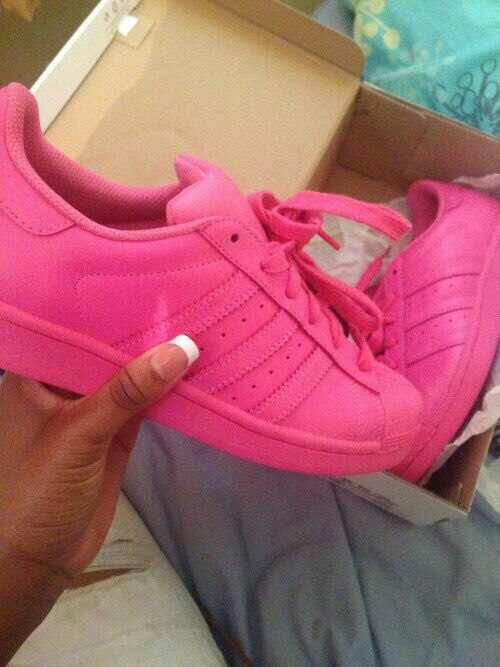best website 7ddc1 4748f Pink Adidas Shoes, Adidas Superstar, Addidas Sneakers, Cute Sneakers, Pink  Sneakers,
