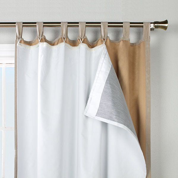 Ultimate Blackout Curtain Panel Liner Insulated Curtains Linen