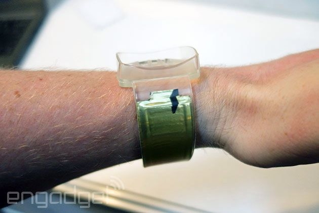 Watch strap #batteries could double the life of your #wearable. http://www.engadget.com/2014/06/04/watch-band-batteries/