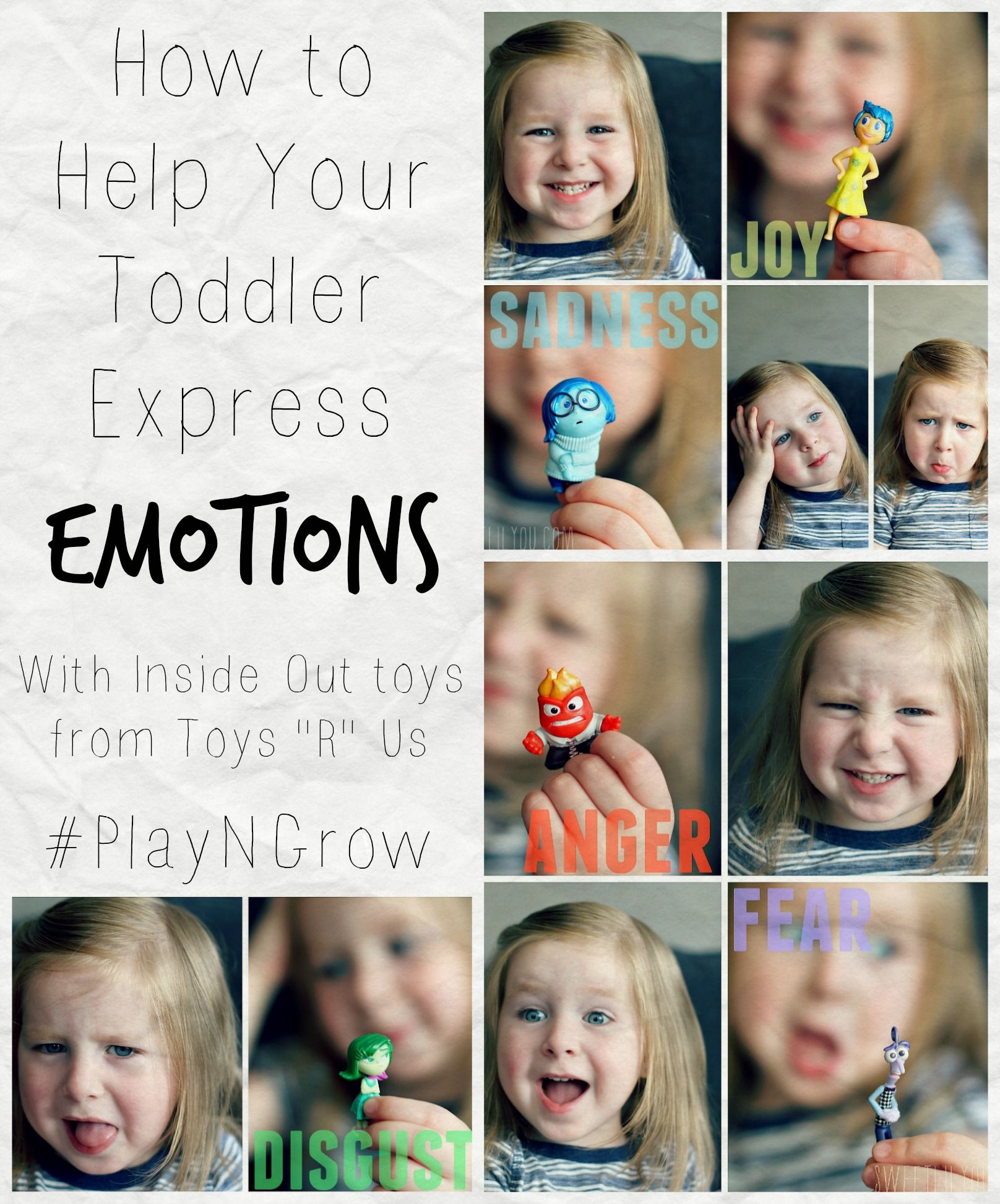 Help Your Toddler Express Emotions