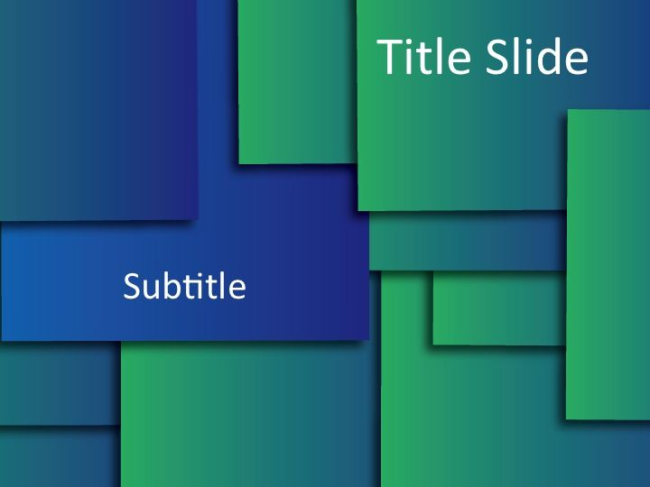 Tile Series Free Powerpoint Templates Great For Fun And Casual