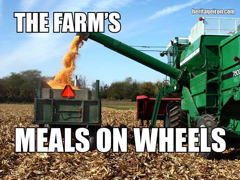 Heritageiron Muscletractor Farm Humor Farm Jokes Tractors