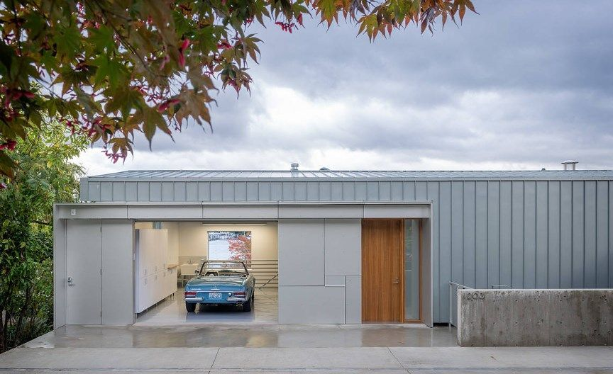 15 Unexpectedly Cool Shipping Container Garage Conversion Plans Ideas