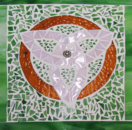 Glass mosaics is like a creative puzzle that when