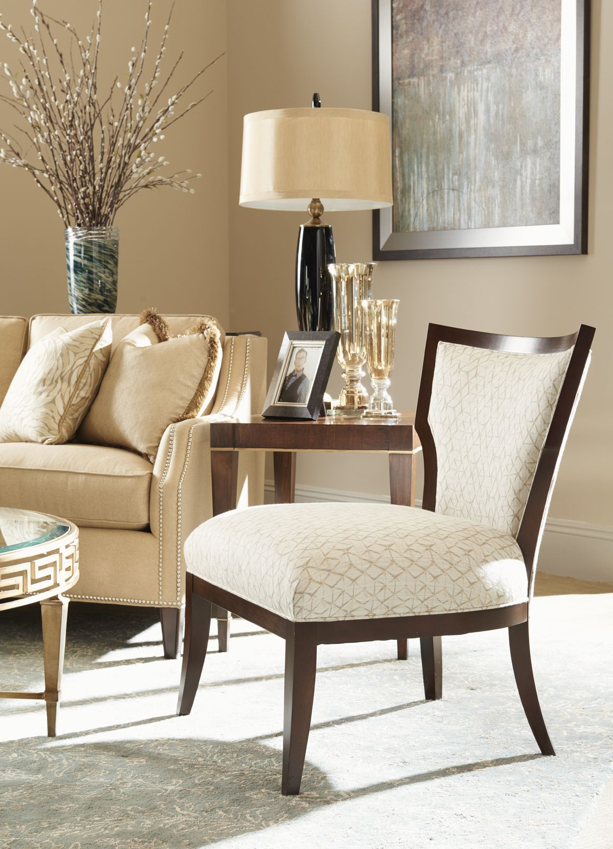 Mirage Gigi Chair Lexington Home Brands Furniture Chooseyourfabric Lhbdesign