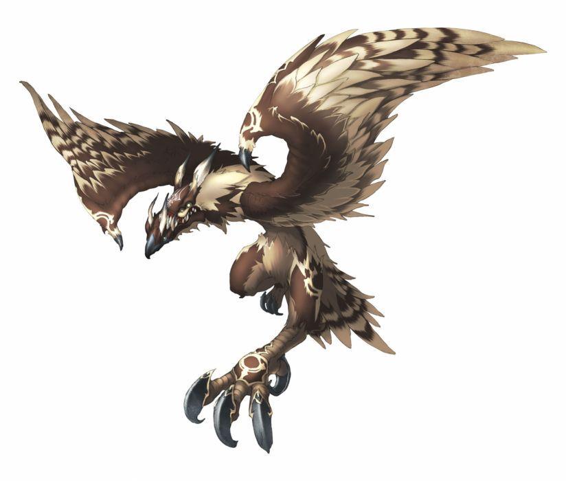 Pandoras Tower Fantasy Anime Bird Warrior V Wallpaper Rpg