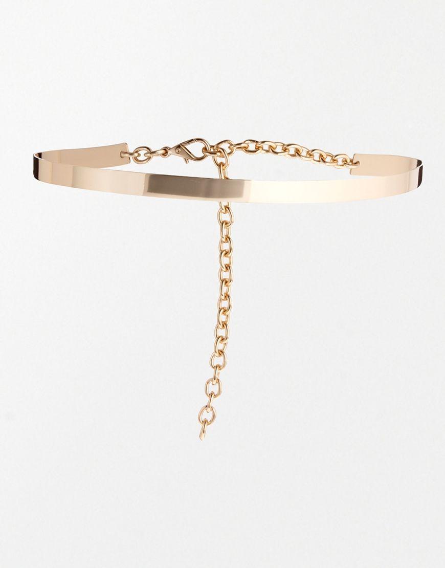 543925d3089659 Sehr schmaler Taillengürtel aus Metall | BEAUTY & FASHION ...