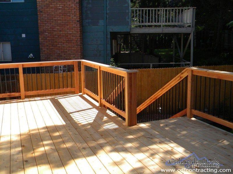 Click to Close | Deck railings, Wood deck, Outdoor decor