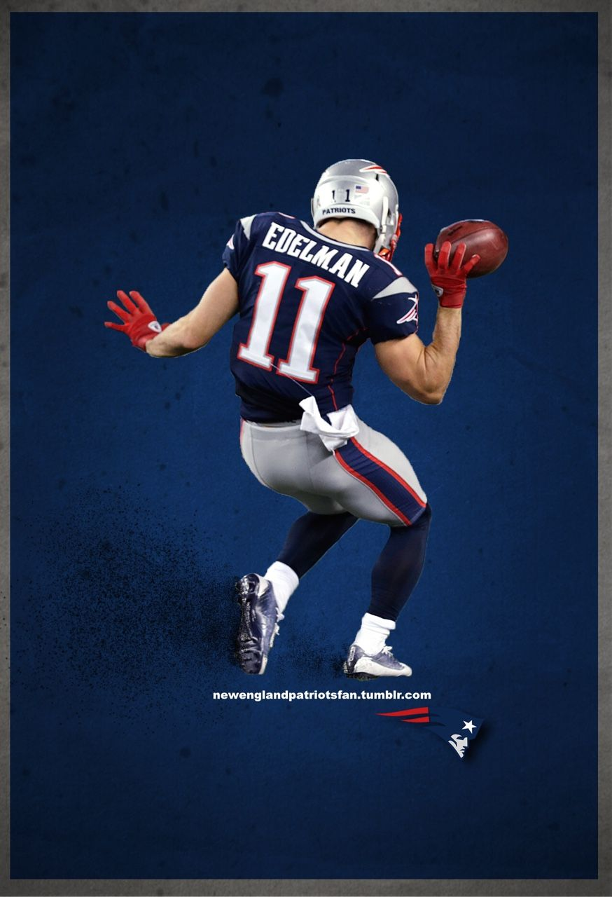 Edelman New England Patriots New England Patriots Football Edelman Patriots