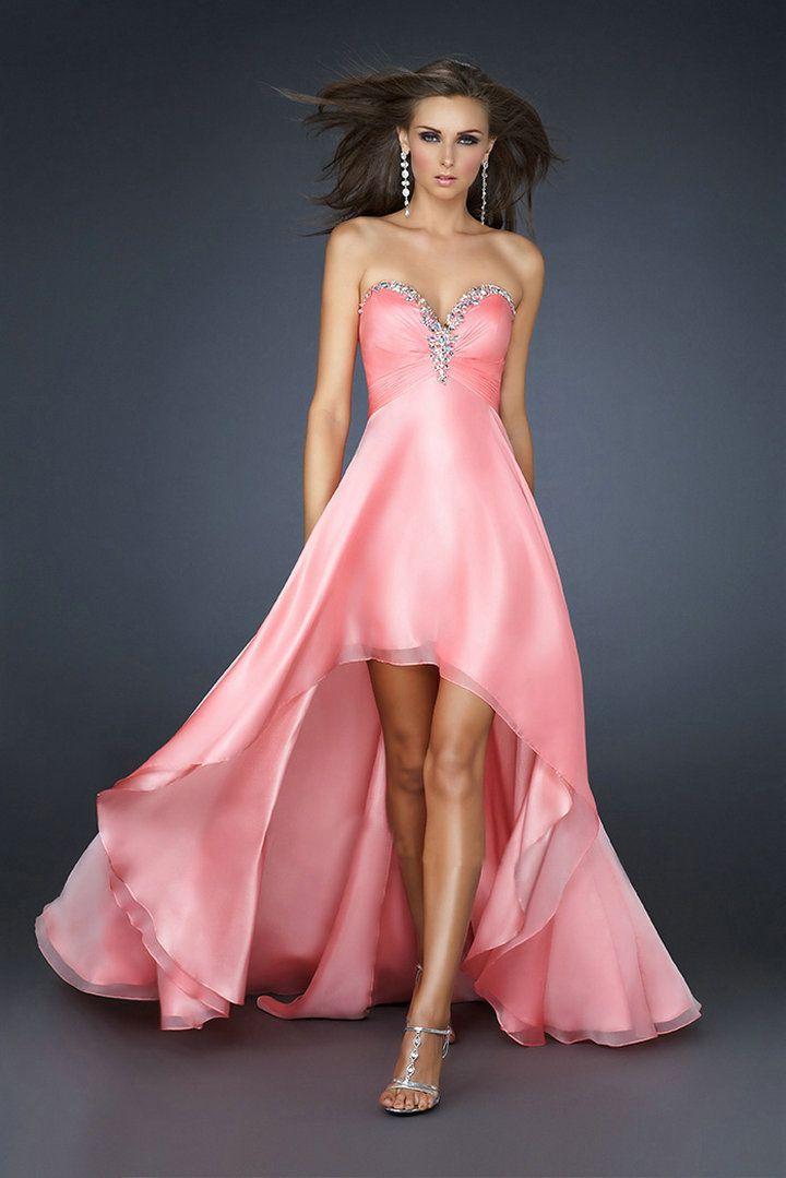 modelos de vestido de fiesta cortos modelo real de coral azul de ...