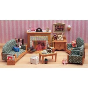 Flair Sylvanian Families Victorian Living Room The Sylvanian Family Living  Room Furniture Set Contains Over 20
