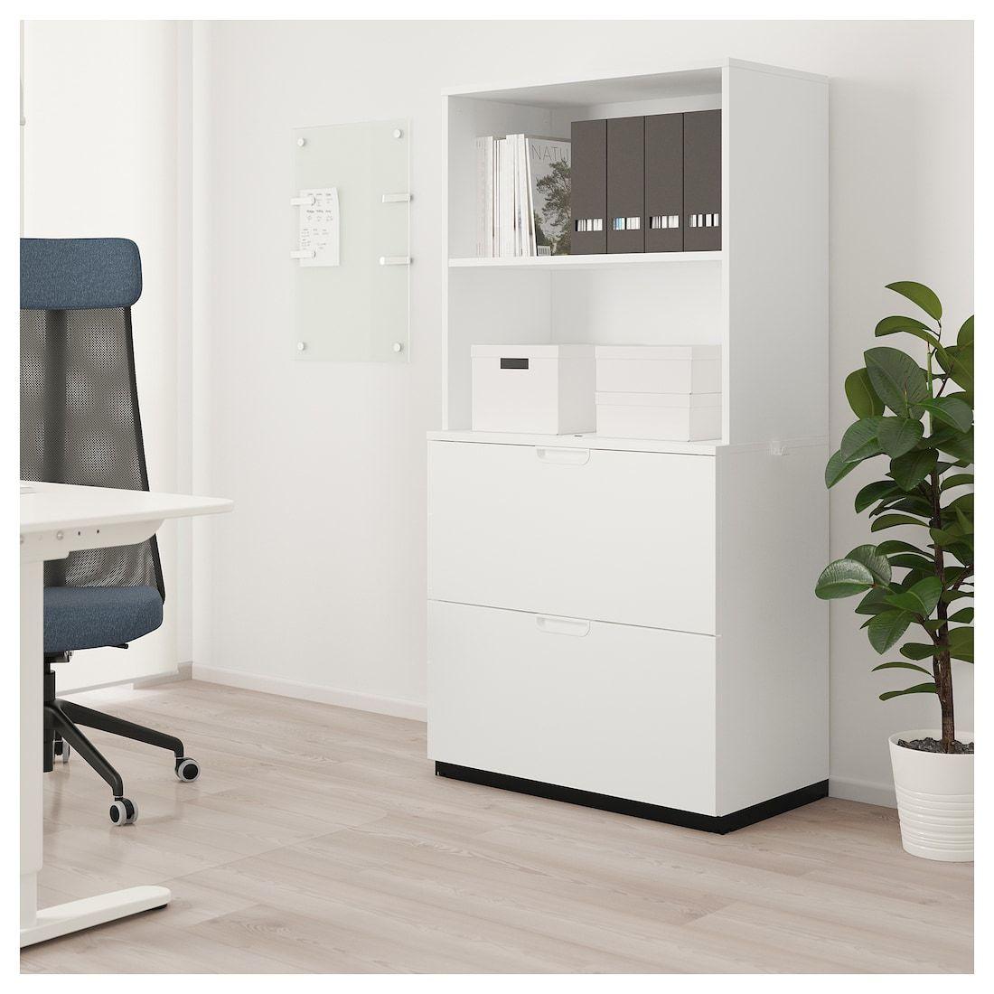 Galant Storage Combination With Filing White 31 1 2x63 Rangement Tiroir Meuble Rangement Caisson A Tiroirs