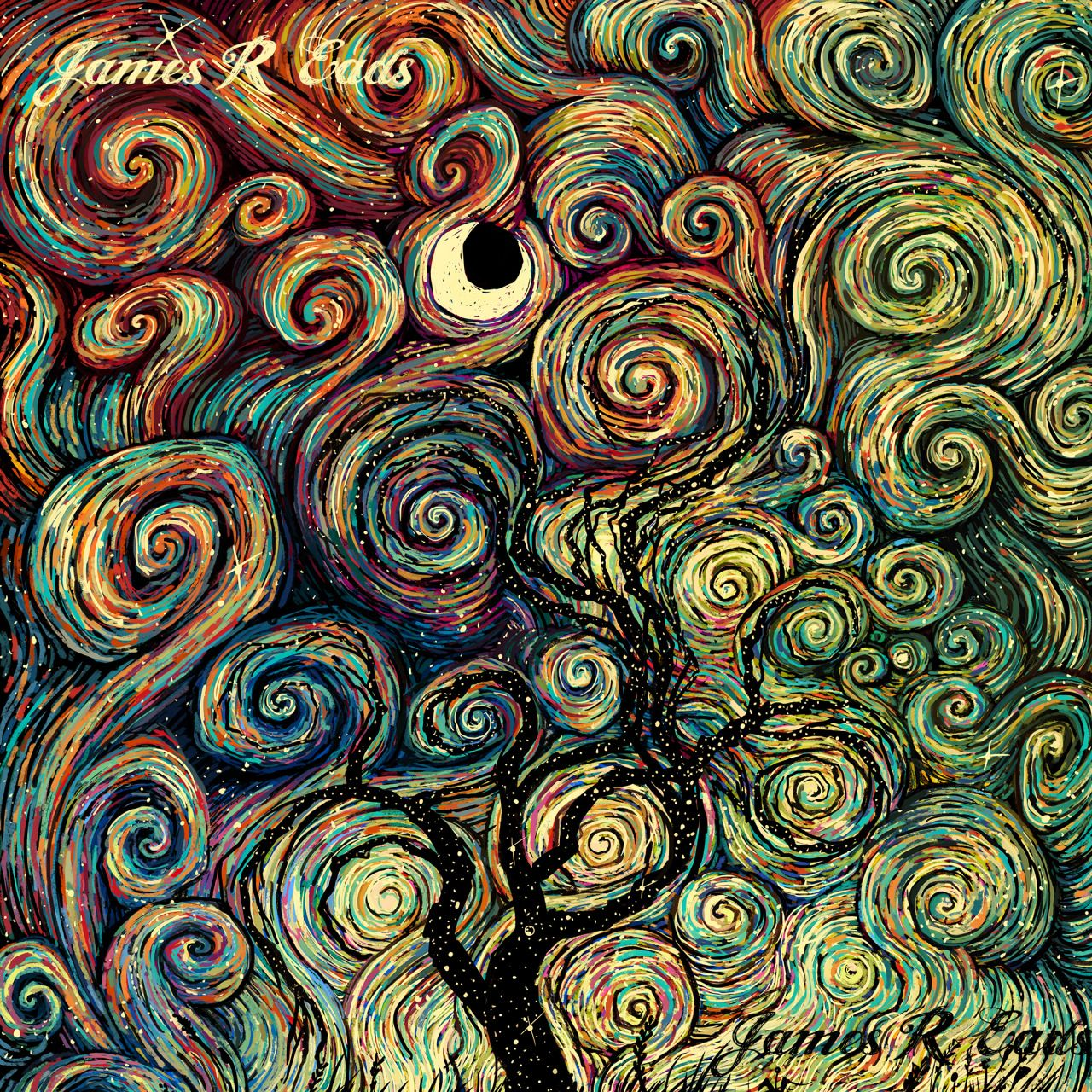 James R. Eads: swirl me in your mind so I can be a color painting you can look upon