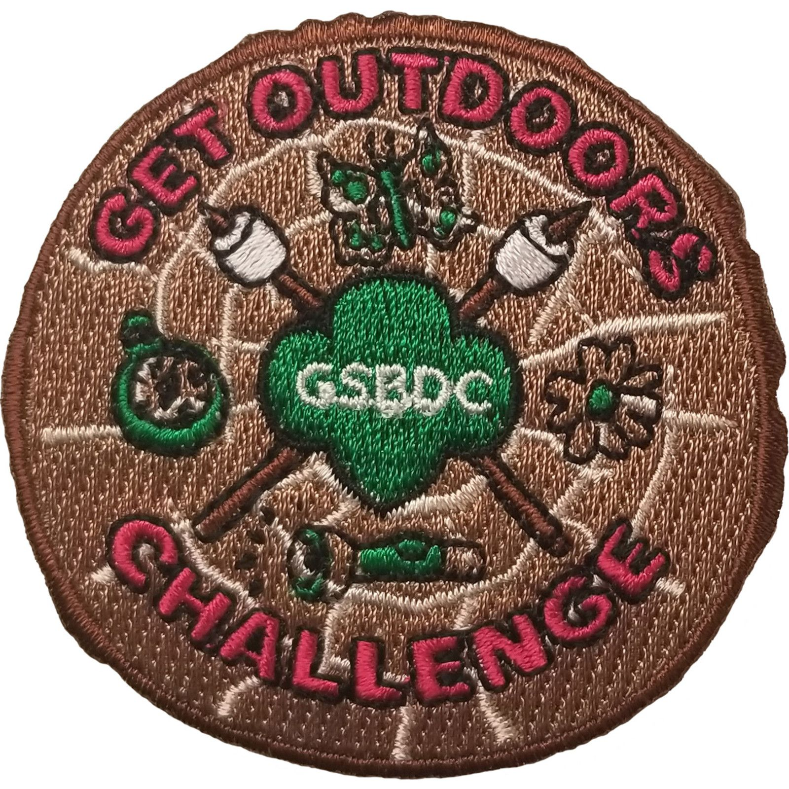 Girl Scouts Get Outdoors Patch