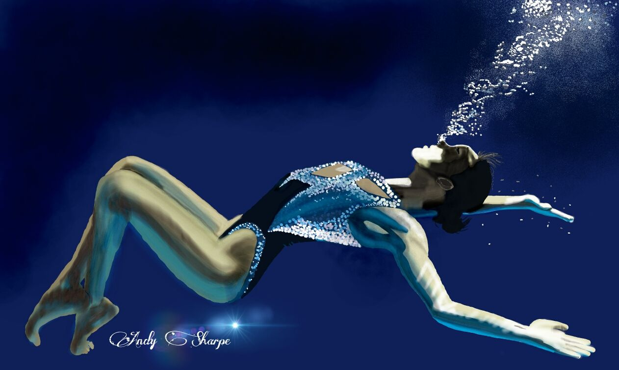 Synchronised Swimmer