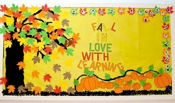 26 Awesome Autumn Bulletin Boards to Pumpkin Spice Up Your Classroom - -