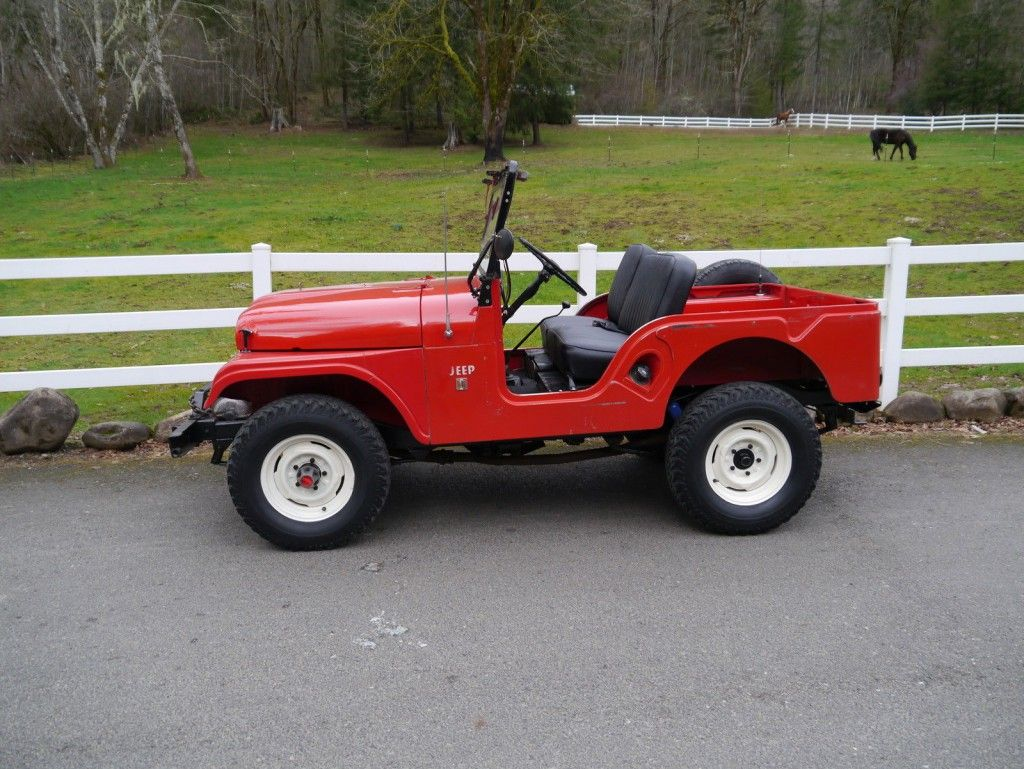 medium resolution of 1966 jeep willy cj5 34 000 actual miles