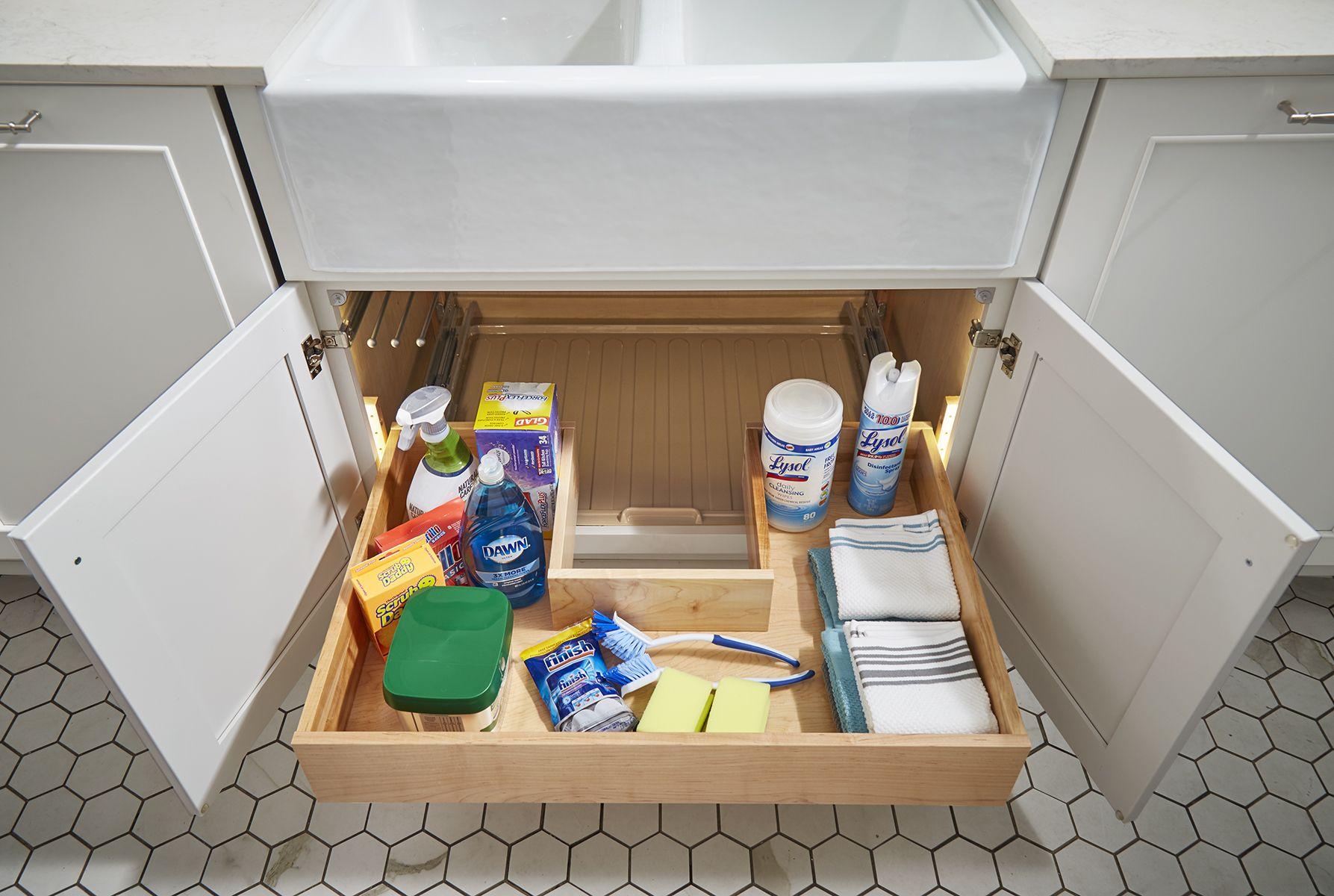 U Shaped Sliding Shelf Sliding Shelves Wellborn Cabinets Shelves