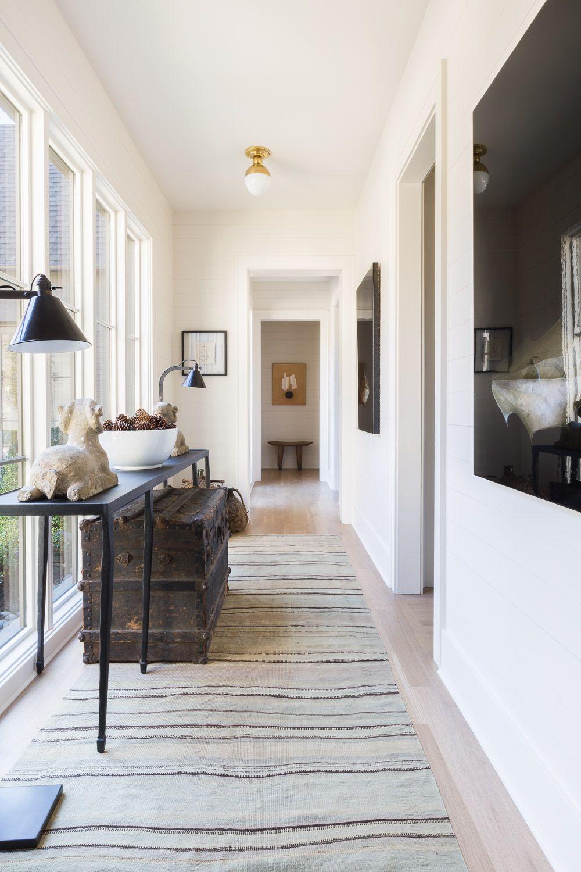 Hallway lighting modern  Alyssa Rosenheck for Sean Anderson Design  Entryways hallways