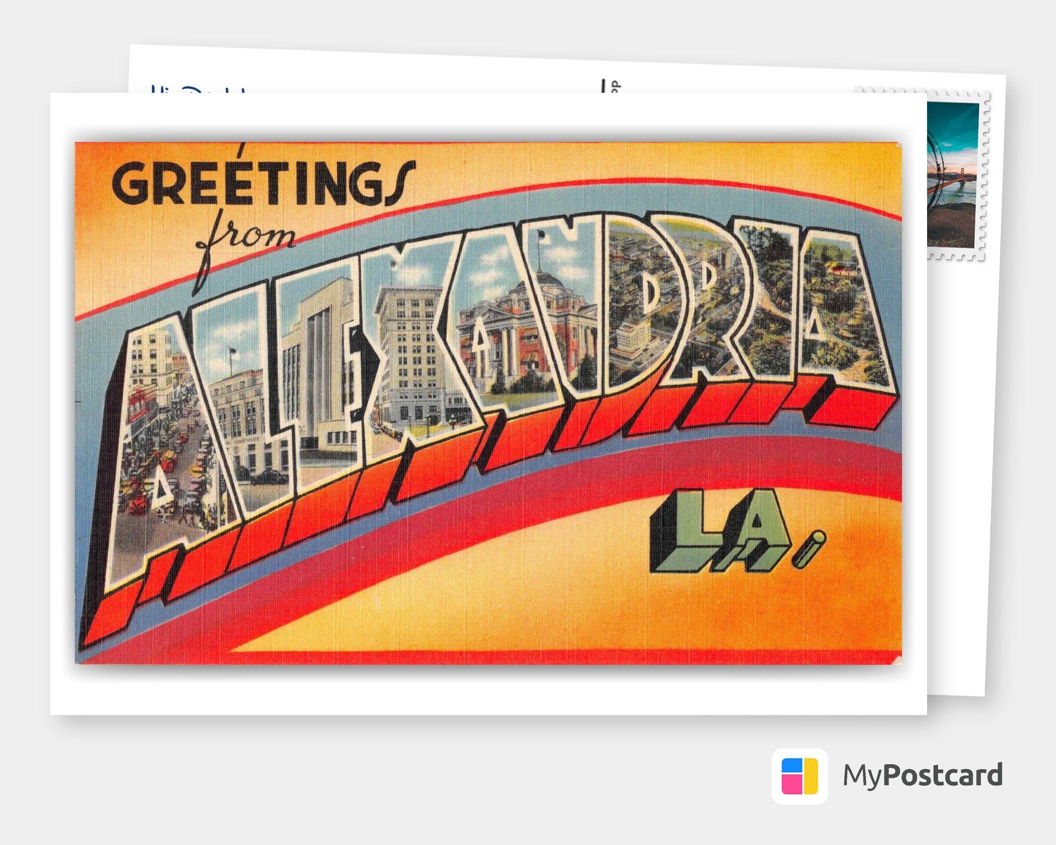 Mit der MyPostcard App Vintage Postkarten und Antike