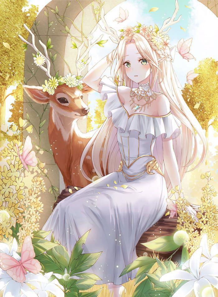 Elf and Deer