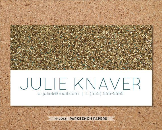 Business card template gold glitter diy by parkbenchpaperie business card template gold glitter diy by parkbenchpaperie colourmoves