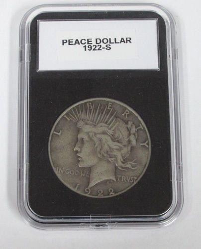 1922-S Liberty Peace Silver Dollar Coin High Grade US Currency