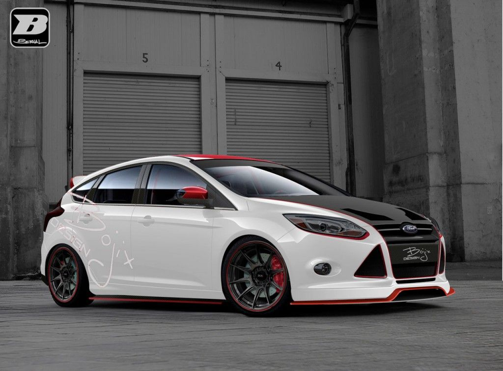 2012 Sema Ford Focus Preview From Brien Ford Ford Focus