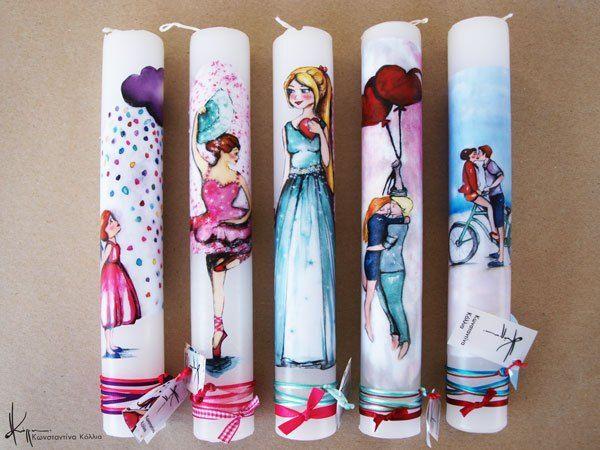 Konstantina Kollia   wax creations