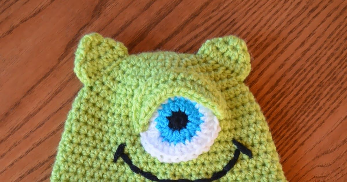 This hat is made with Vanna's Choice Yarns in the following colors:  Radiant Lime  Sapphire  White  Black   Toddler Size:  You will also n...