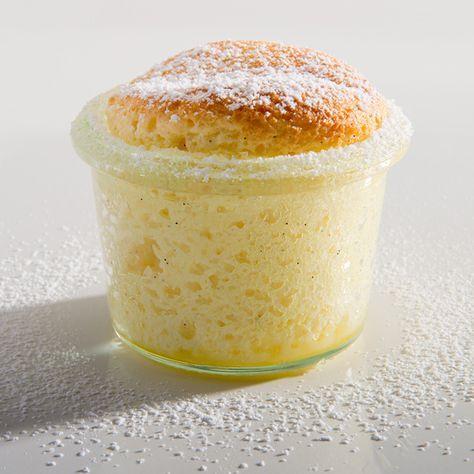 Schnelles Quarksoufflé | Kleine Kuchen und Große