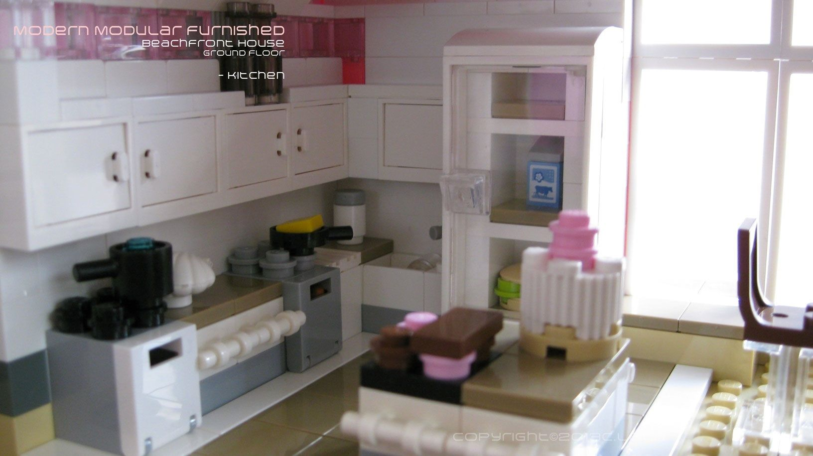 Best Kitchen Please Vote For My Modern Modular Lego House 400 x 300