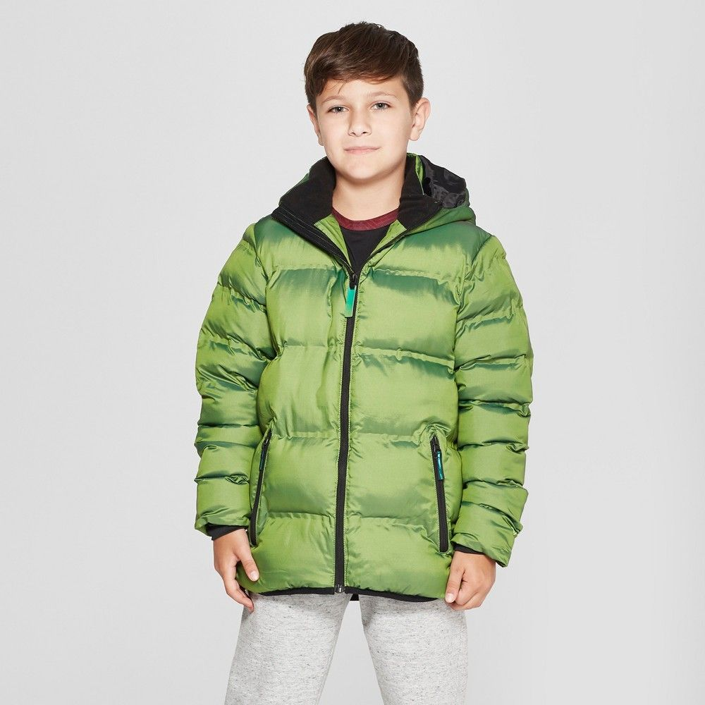 Boys Puffer Jacket C9 Champion Green Xs In 2021 Boys Puffer Jacket Jackets Puffer Jackets [ 1000 x 1000 Pixel ]