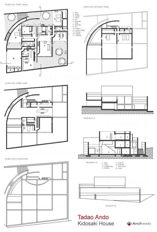 Kidosaki House Tokyo Japan 198586  Tadao Ando