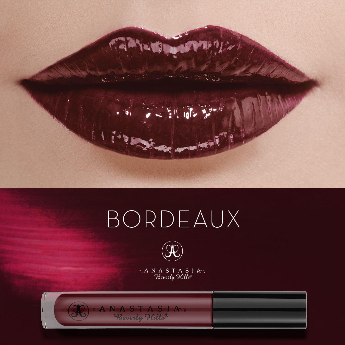 Bordeaux on the lips. #LipGloss #AnastasiaBeverlyHills