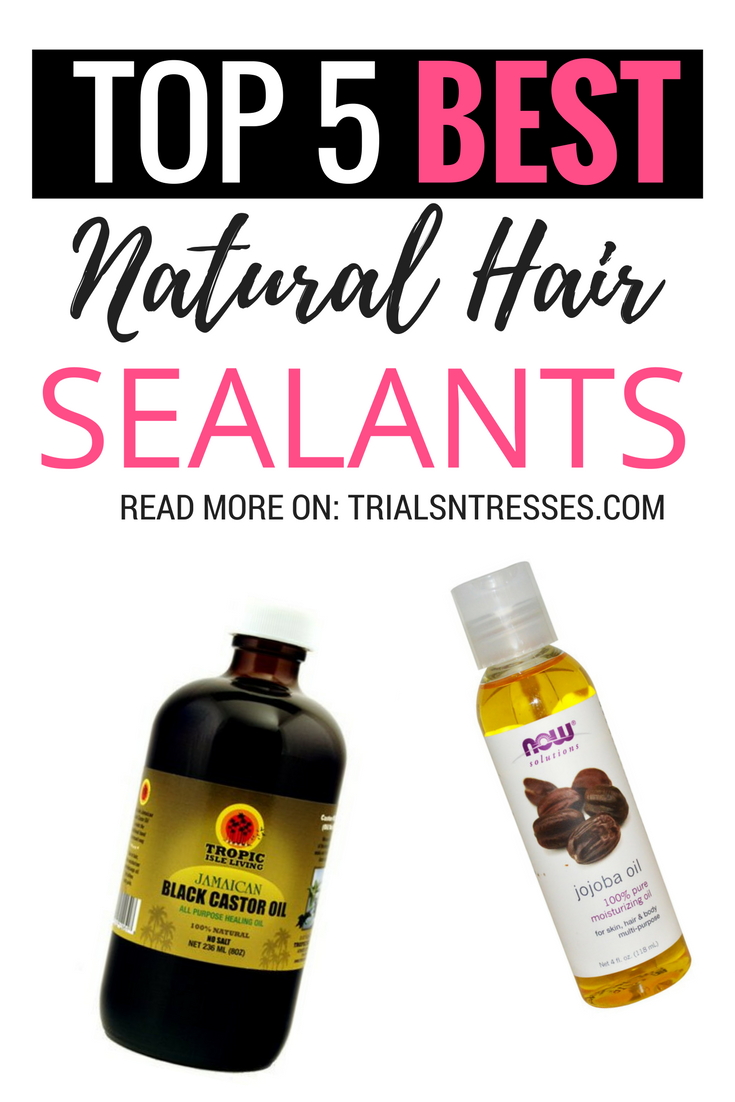 Top 5 Best Natural Hair Sealants - Trials N Tresses