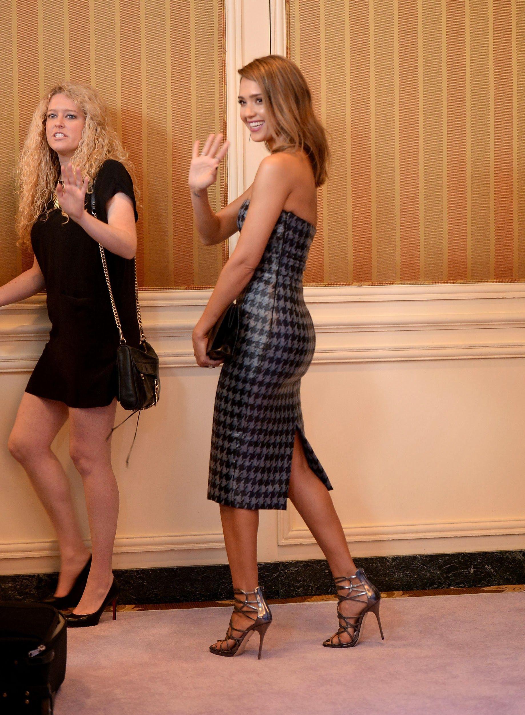 Jessica Alba attends 5th Annual Power of Women Event