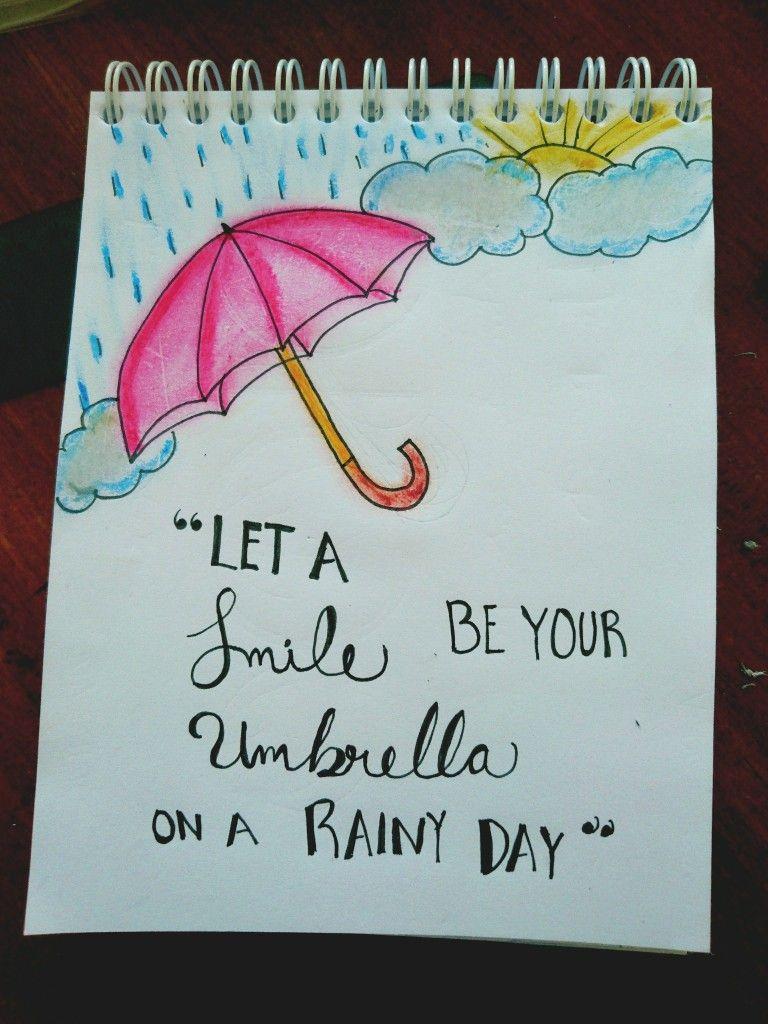 Deja que una sonrisa sea tu paraguas en un día lluvioso :) By ...