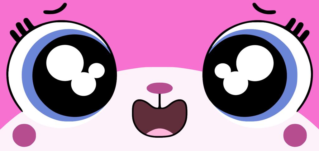 How to draw Unikitty Face Emoji - YouTube |Unikitty Face