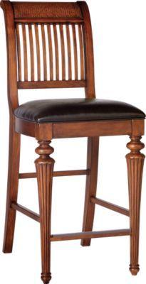 Cindy Crawford Home Key West Slat Barstool Nbsp 189 99 19 5w X 25d