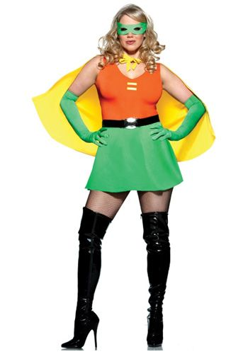 Plus Size Sexy Side Kick Costume Costumes ideas Pinterest - halloween costume ideas plus size