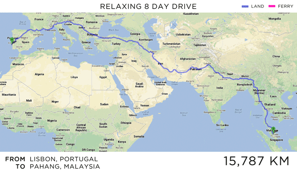 Travel route map google maps challenge longest driving routes travel route map google maps challenge longest driving routes martin krzywinski gumiabroncs Gallery