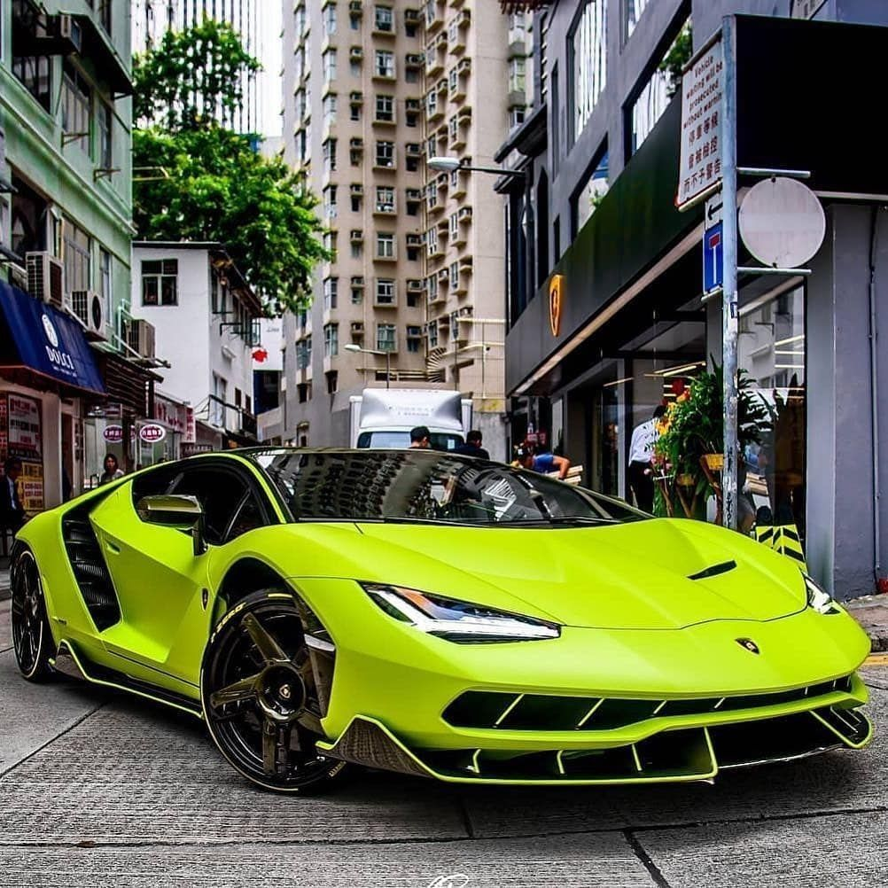 Lime Green Bugatti Veyron: Lamborghini Centenario