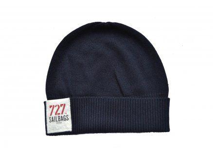 Le bonnet marin par 727Sailbags x Eric Bompard Cachemire - 49€ sur www.727sailbags.com