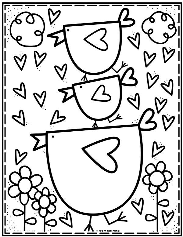 Coloring Club From The Pond Kindergarten Coloring Pages Coloring Pages Coloring For Kids