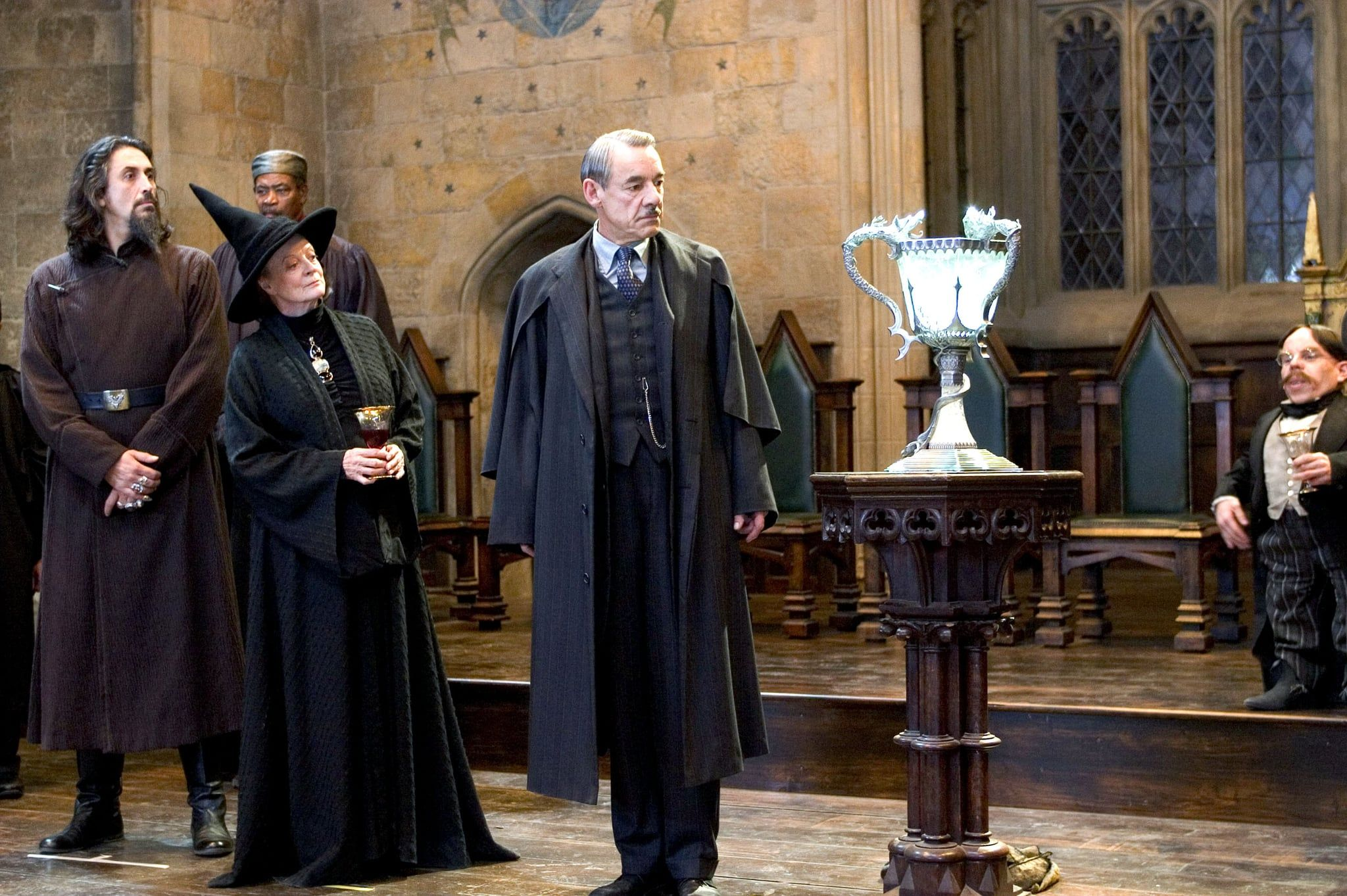 Harry Potter And The Goblet Of Fire Was Almost Called Something Else Harry Potter Goblet Maggie Smith Harry Potter Costume